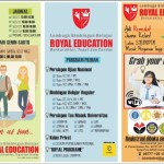 Brosur Bimbel Dan Privat Royal Education