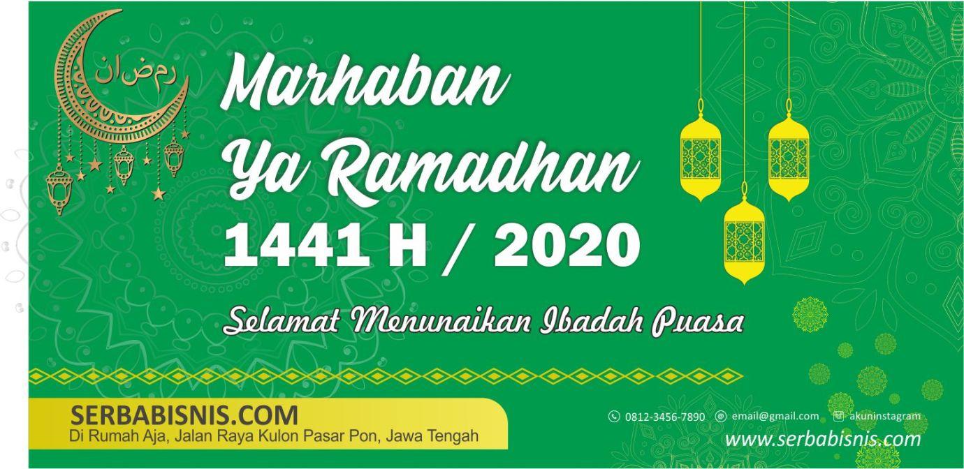 Desain Banner Spanduk Ramadhan Serbabisnis
