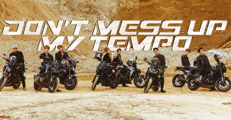 EXO Rilis Konsep Dan Daftar Isi Album Don't Mess Up My Tempo