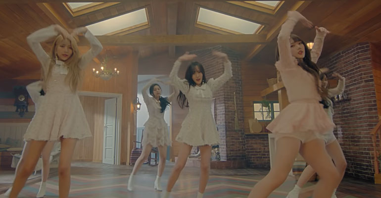 [MV/Lirik] GFRIEND RIlis Lagu Sunrise (해야) Dari Album Time For Us