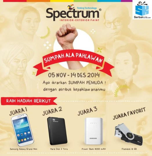 sumpah ala pahlawan video contest