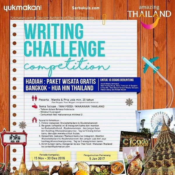 Writing Challenge Competition