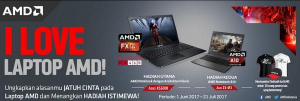 I Love Laptop AMD