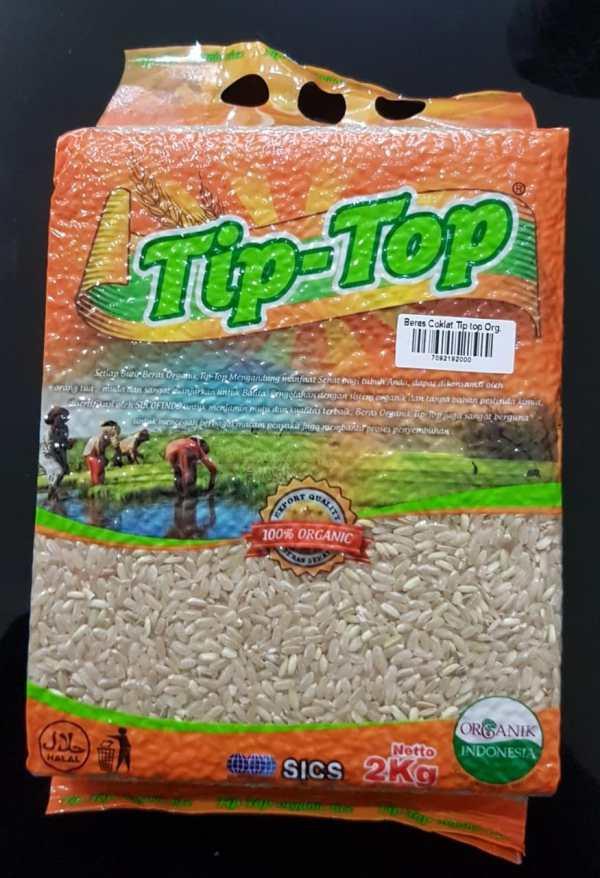 jual beras coklat tip top