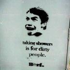 30-Stencil Graffiti Artworks shower