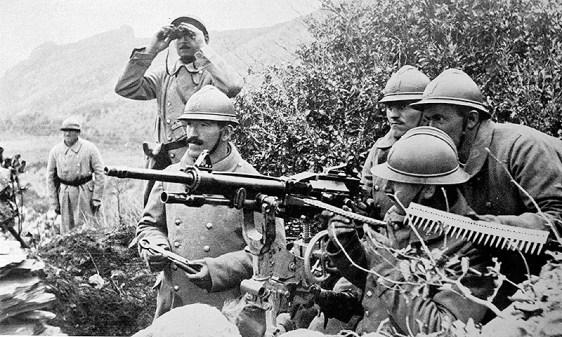 Српски војници у француским униформама Serbian soldiers in French uniforms