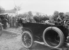 Краљ Петар Први и Војвода Радомир Путник у Скопљу.