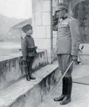 Момчило Гаврић најмлађи српски војник првог светског рата. Са осам година придружио се армији 1914.