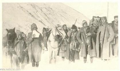 Српска војска током повлачења преко Албаније | Serbian Army during its retreat towards Albania