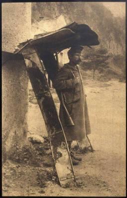 Српски војник на стражи