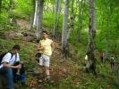 Када зе зађе у шуму, следи мало стрмија партија