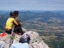 А зашто би се и померали, кад се овде човек осећа као на врху Србије - поглед допире до зуба Штрпца