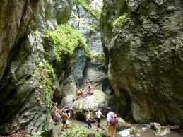 У сред кањона Белог Рзава
