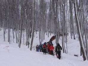 зимски успон на Ртањ