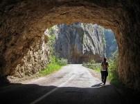 Путем уз кањон Јерме