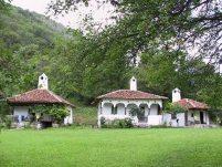 Музеј (аитентичне куће пренете из Голубиње, пре изградње хидроцентрале)
