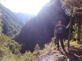 Алекса у кањону Милешевке
