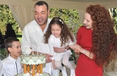 Краљевска породица (Краљ Мохамед VI и принцеза Лала Салма)