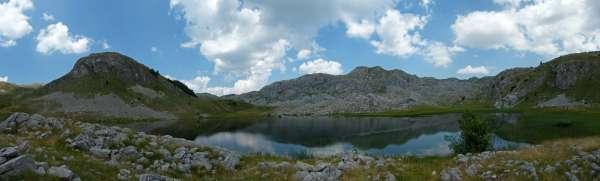 Панорама Котланичког језера