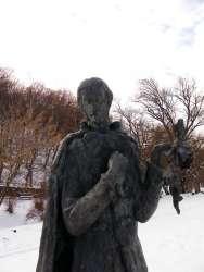 Статуа песника на Стражилову