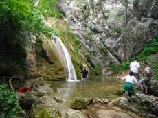 брчкање у водопаду