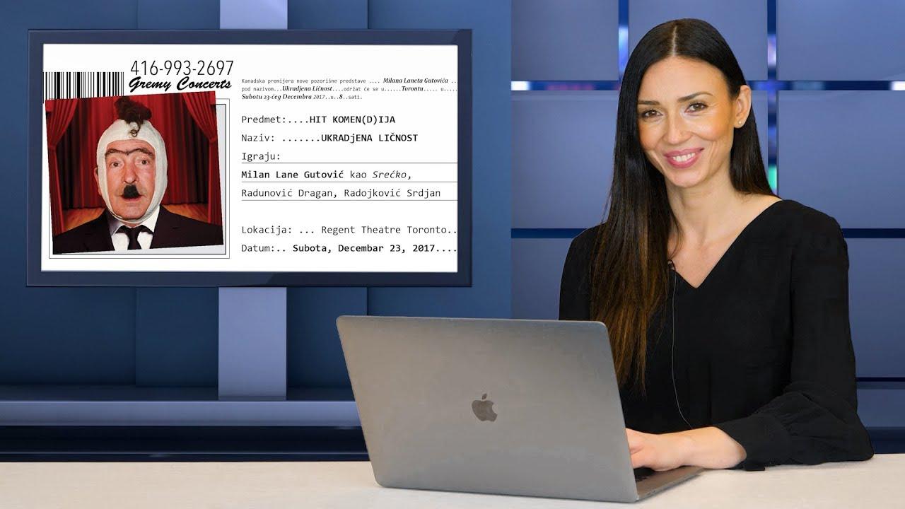 4 Sezona 33 Epizoda Milan Lane Gutovic Ukrađena Licnost U Torontu Serbian Toronto Television Srpska Televizija Toronto
