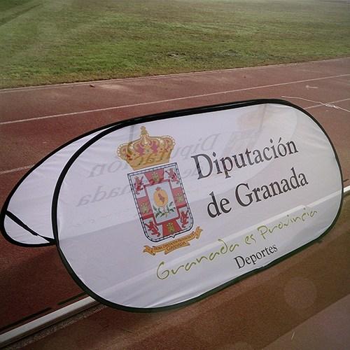 Vallas Pop Up Diputación Granada