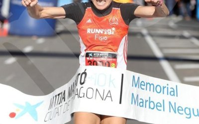 Cinta Meta Tyvek Mitja Marato Tarragona