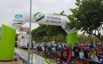 arco hinchable-federacion extremeña triatlon