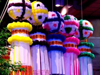 東北六魂祭で仙台七夕まつり