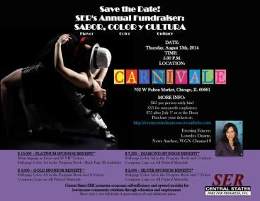 Sabor, Color y Cultura Fundraiser