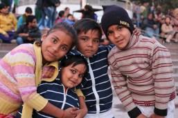 Indian children in Rishikesh, India