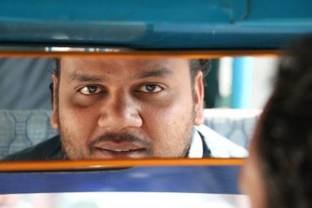 tuk-tuk driver in Rishikesh, India