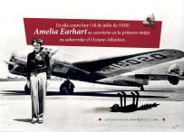 18 de julio de 1928: Amelia Earhart se convierte en la primera mujer en sobrevolar el Océano Atlántico.