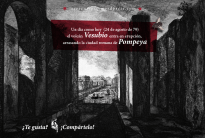 24 de agosto de 79: el volcán Vesubio entra en erupción, arrasando la ciudad romana de Pompeya