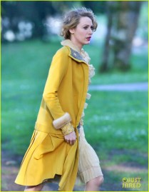 Blake Lively Films 'The Age Of Adaline' On A Beach In Burnaby