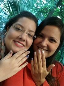 Ostentando os tesouros com a linda Mônica do Beauty Drops Blog
