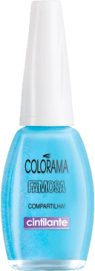 Colorama Famosa Azul Cintilante