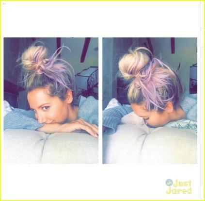 Ashley Tisdale sereiando