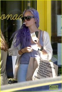 Amanda Bynes cabelo roxo