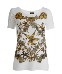 Camiseta Fundo Do Mar Versace para Riachuelo - 79,90