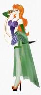 Ariel em versão burlesca pelo artista Madhanz