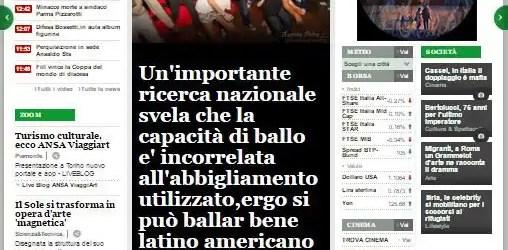 Ansia.it:Il ballo
