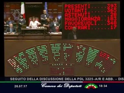 Stop ai vitalizi,la Camera approva la proposta di legge Richetti