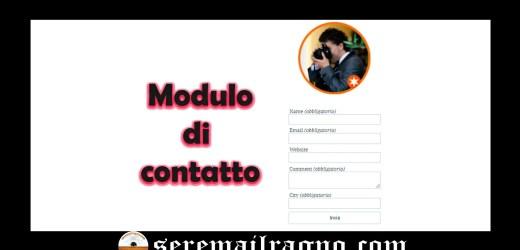 Contattami (Contact me)
