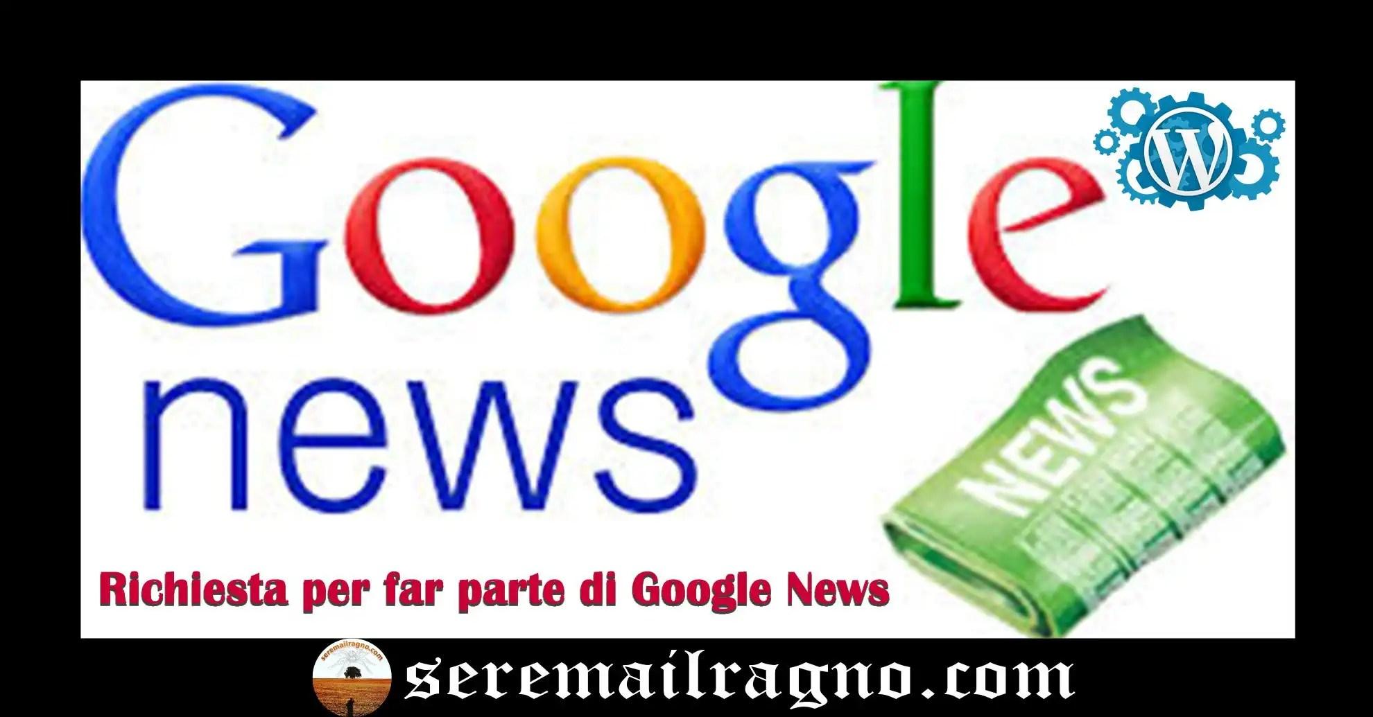 Google News: sito rifiutato, vediamo perché