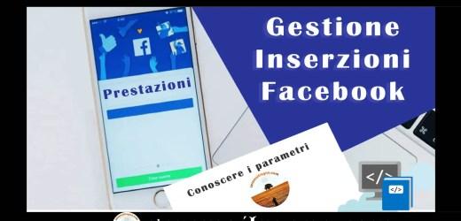 Gestione Inserzioni Facebook – Le Prestazioni