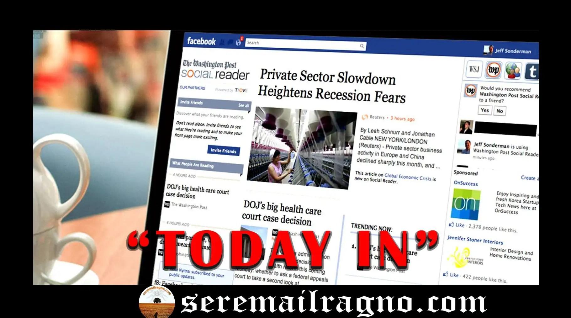 """Facebook inizia a testare """"Today In"""", un nuovo spazio di notizie attendibili"""