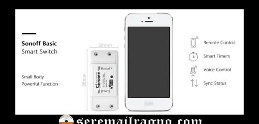 Sonoff: l'interruttore Wi-fi per la domotica