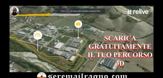 Corsa di Pasquetta e Relive Test: ecco come scaricare i video percorsi 3D gratuitamente